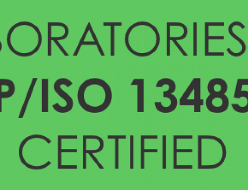 C.G. Labs is now MDSAP/ISO 13485:2016 certified